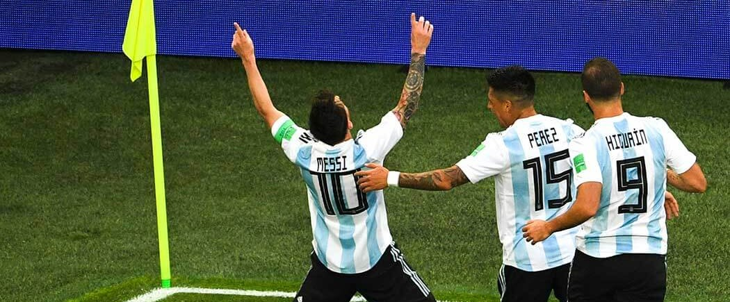 L'Argentine écarte le Nigéria et se qualifie dans la difficulté