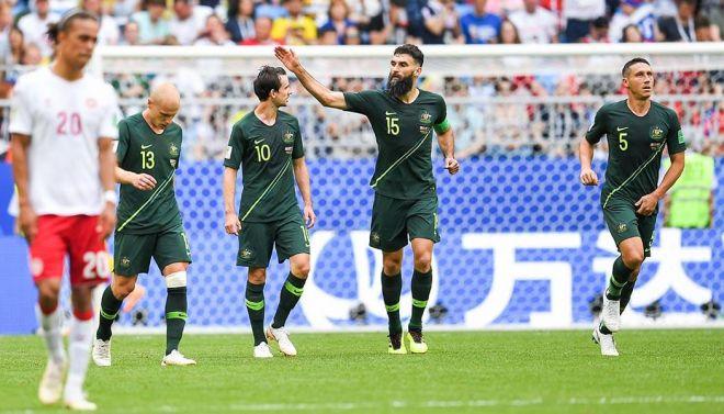 Le Danemark et l'Australie se neutralisent