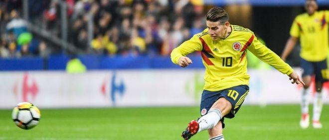 James Rodriguez absent contre le Japon ?