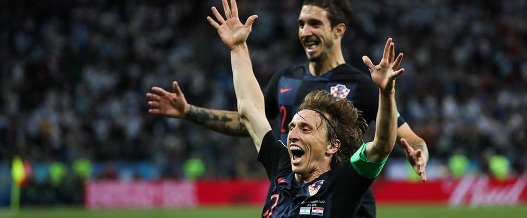 Luka Modric élu ballon d'Or Adidas