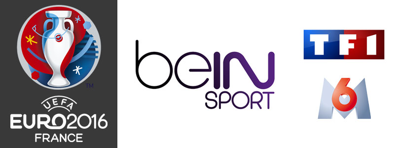 tv l 39 euro 2016 sur bein sports tf1 et m6. Black Bedroom Furniture Sets. Home Design Ideas