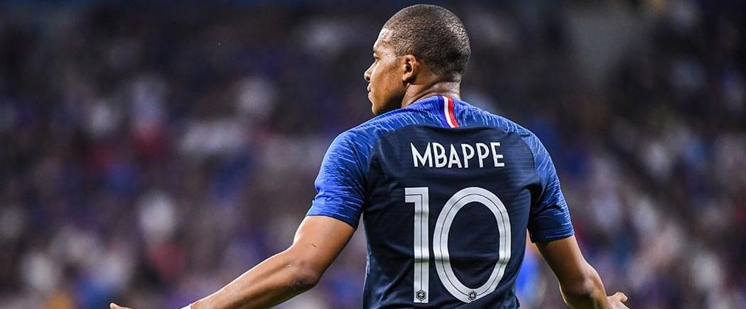 Kylian Mbappé élu meilleur jeune Joueur du tournoi