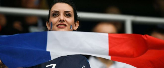 Record d'audience pour la finale France-Croatie