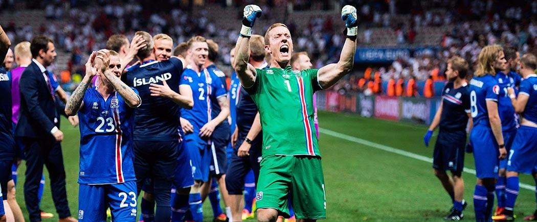 Hannes Halldorsson, gardien mais pas seulement !