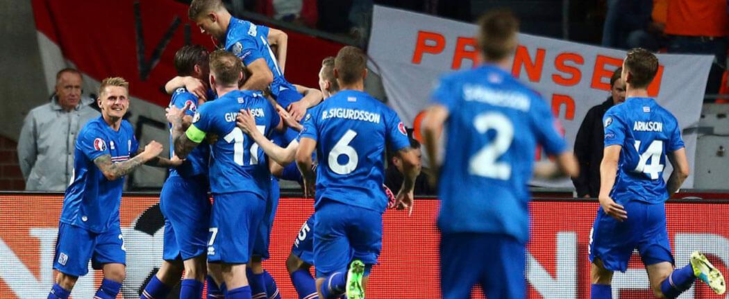 Absolument toutes les télévisions islandaises étaient allumées sur le match face à l'Argentine.