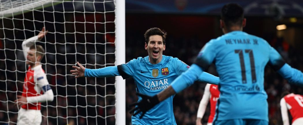 Messi assomme Arsenal