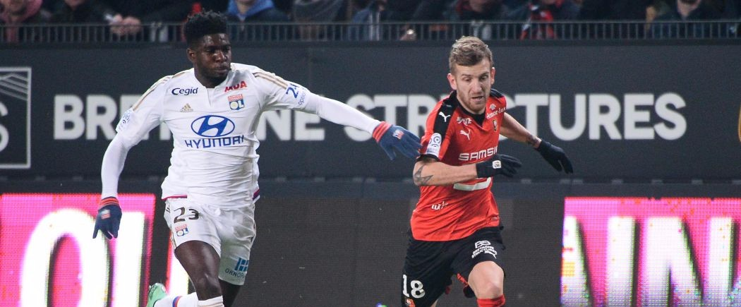 Lyon laisse filer de précieux points à Rennes
