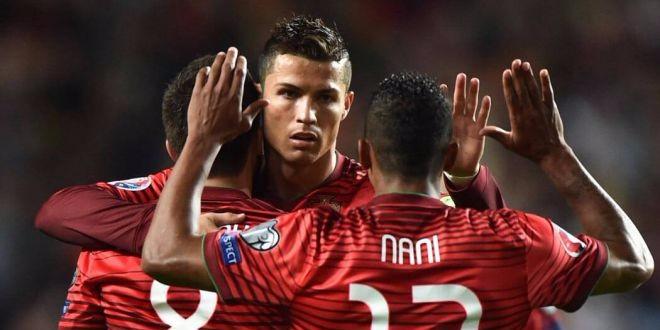 Cristiano Ronaldo arrive, les champions d'Europe enfin au complet
