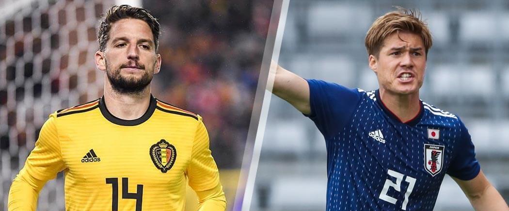 Huitièmes de finale : Belgique-Japon pour les nuls