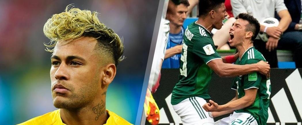 Huitièmes de finale : Brésil-Mexique pour les nuls