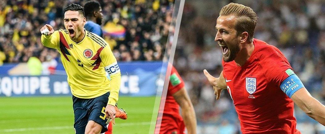 Huitièmes de finale : Colombie-Angleterre pour les nuls