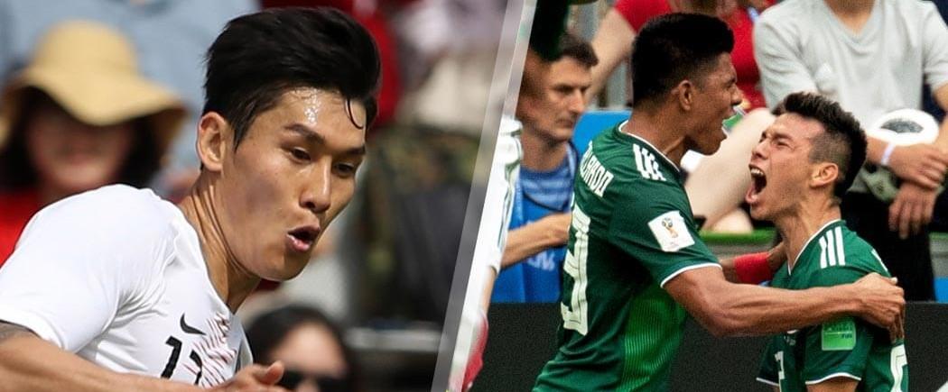 GROUPE F : Corée du Sud-Mexique pour les nuls