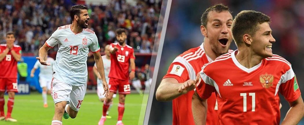 1/8èmes de finale : Espagne-Russie pour les nuls