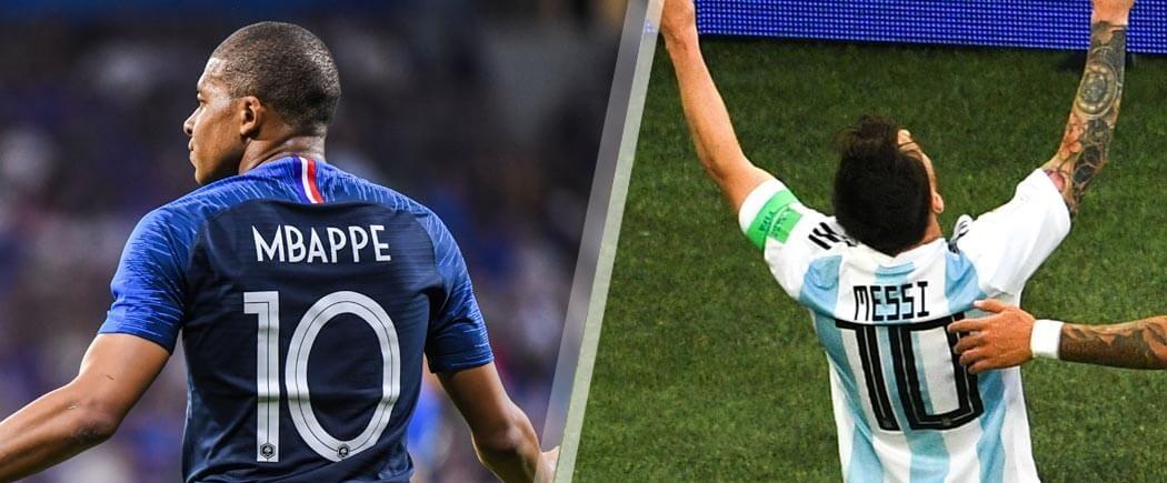 1/8èmes de finale : France-Argentine pour les nuls