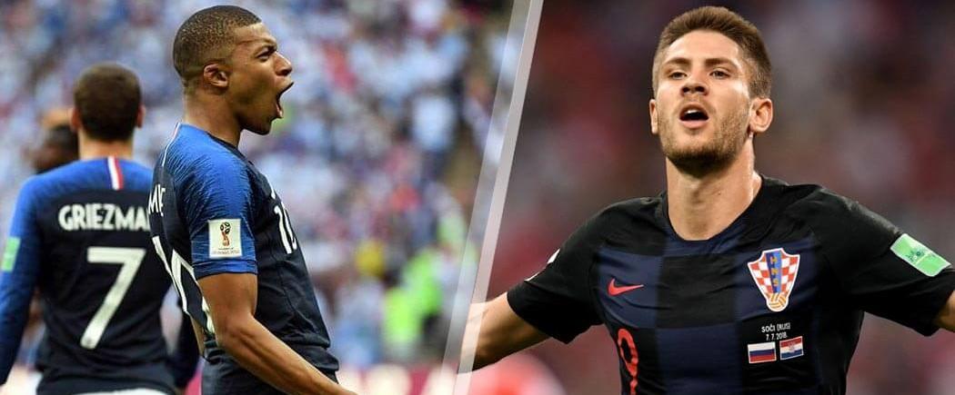 Finale : France-Croatie pour les nuls
