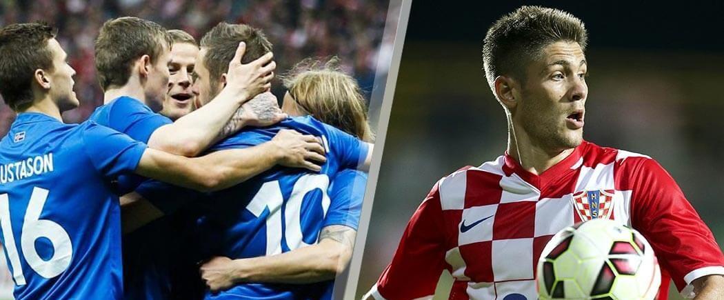 GROUPE D : Islande-Croatie pour les nuls