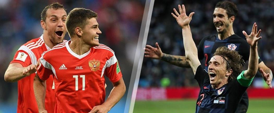 Quarts de finale : Russie-Croatie pour les nuls