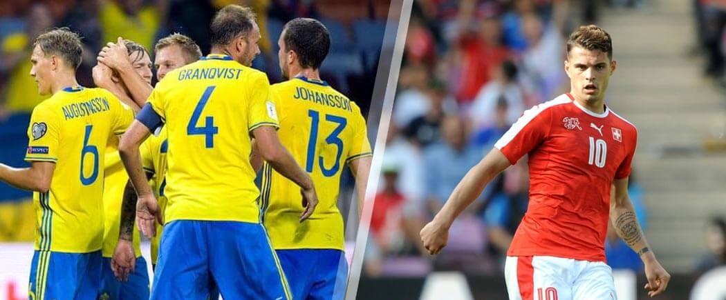 Huitièmes de finale : Suède-Suisse pour les nuls