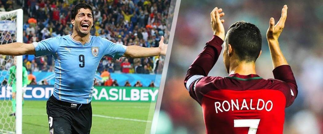 1/8èmes de finale : Uruguay-Portugal pour les nuls