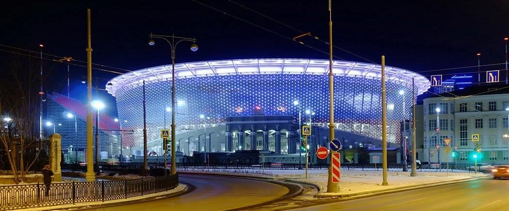 LE TOUR DU PROPRIO (6/12) : Iekaterinbourg Arena
