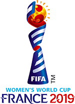 Logo officiel de la Coupe du monde France 2019