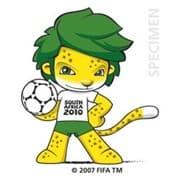 Zakumi, mascotte Coupe du monde Afrique du sud 2010