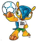 Fuleco, mascotte Coupe du monde Brésil 2014