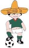 Juanito, mascotte Coupe du monde Mexique 1970