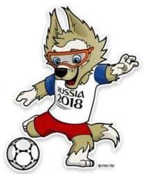 Zabivaka, officielle de la Coupe du monde 2018