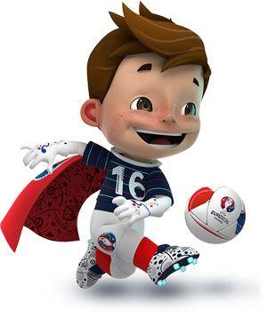 Mascotte de l'Euro 2016