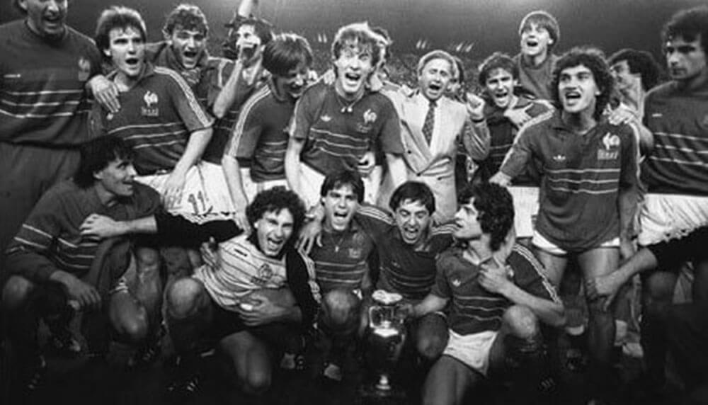 Victoire de la France à l'Euro 1984