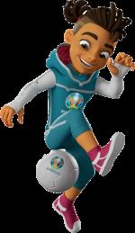 𝖲killzy, mascotte officielle de l'Euro 2020