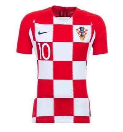 Maillot domicile de la Croatie