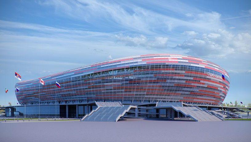 """Résultat de recherche d'images pour """"Mondial 2018, Russie, stades"""""""
